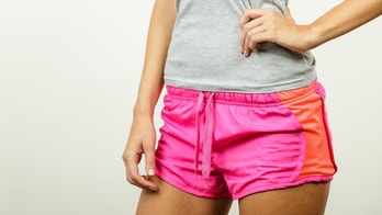 woman athletic shorts istock