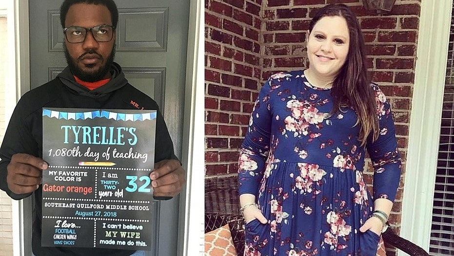 "One North Carolina mom had a hilarious vision for the perfect ""back to school"" post to share on social media featuring her husband, a teacher."