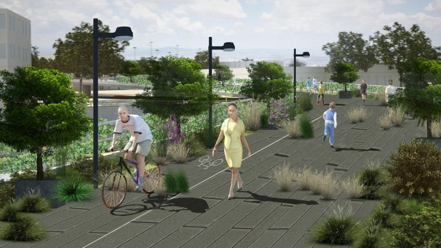 Mexico City's planned elevated garden, inspired by Manhattan's High Line, will traverse two major arteries, allowing citizens to cross from a major metro stop into the metropolis's most prominent park.