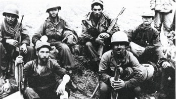 Borinqueneers: the only all-Hispanic unit in U. S. Army history Soldiers of the 65th, North of the Han River, Korea, June 1951. (U. S. Army photo)