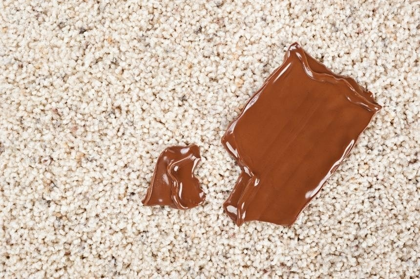 Image Titled Get A Bleach Stain Out Of Carpet Step 3