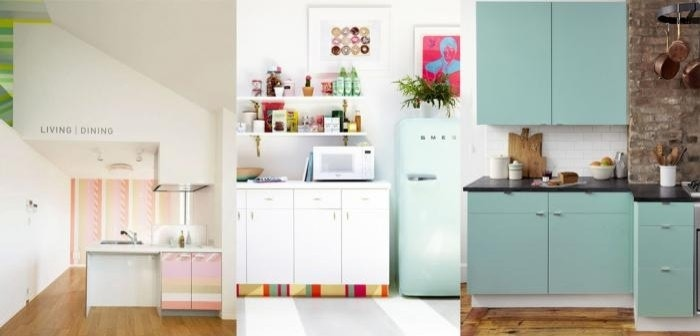 customize kitchen cabinets with colored contact paper - Contact Paper For Kitchen Cabinets