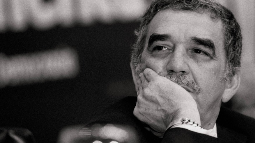 Gabriel Garcia Marquez, writer The Colombian writer on occasion of the dialogues 'Iberoamerica: Meeting in Democracy'  (Photo by Paco Junquera/Cover/Getty Images)