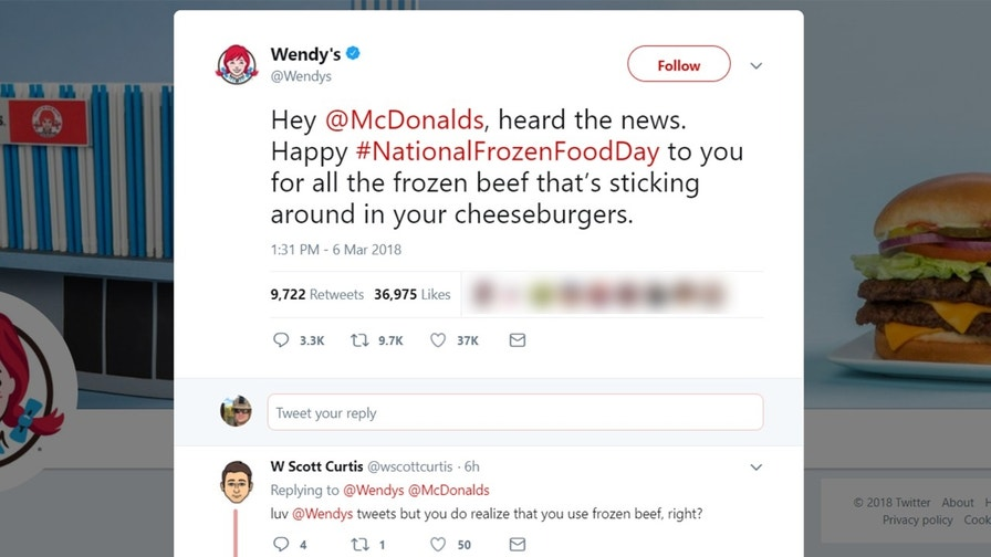 Wendy's most outrageous Twitter comebacks