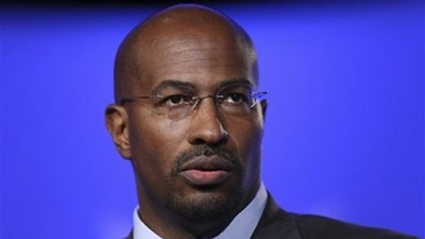 Shown here is former White House green jobs adviser Van Jones.