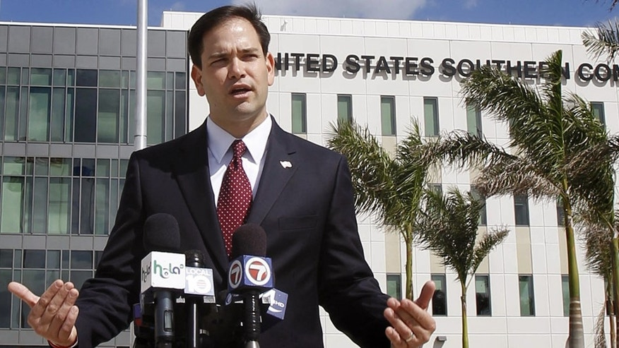 Florida Sen. Marco Rubio says immigration is a federal, not state, matter.