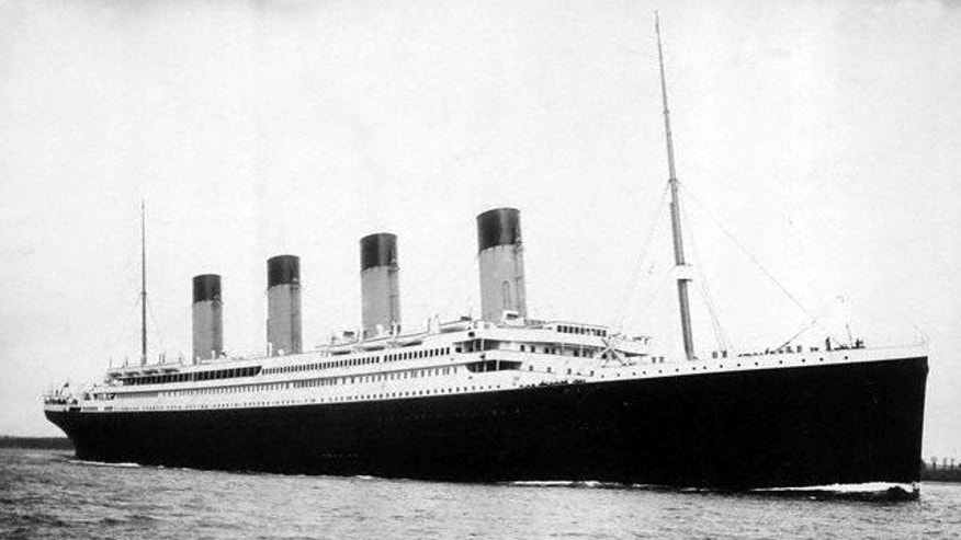 Was the Titanic sunk by a steering error?
