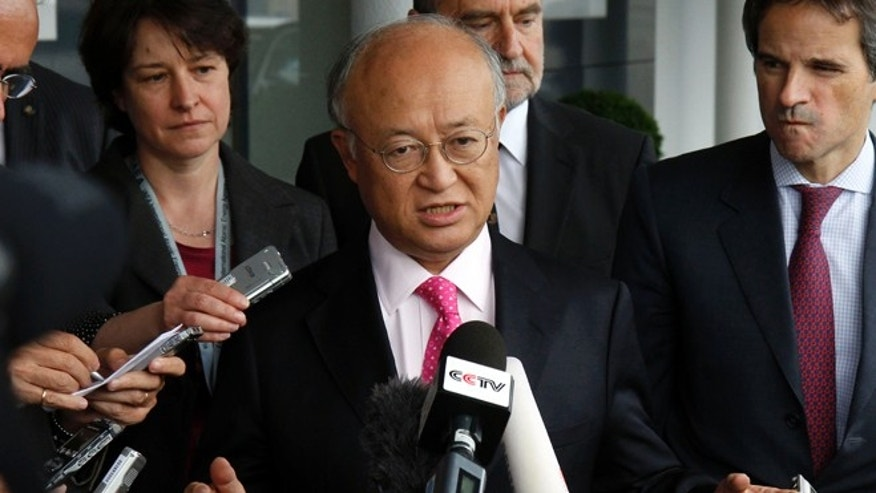 Director General of the International Atomic Energy Agency Yukiya Amano says Iran is still pursuing nuclear weapons.