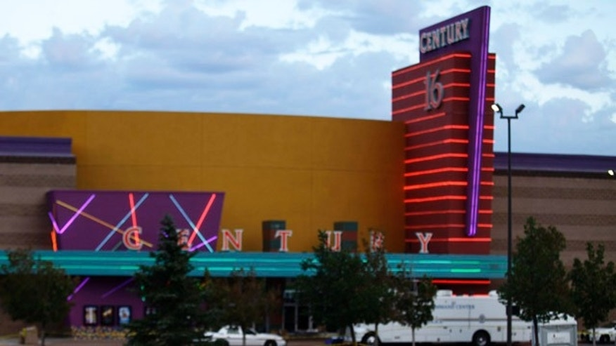 July 23, 2012:  The Century 16 movie theater in Aurora, Colorado.