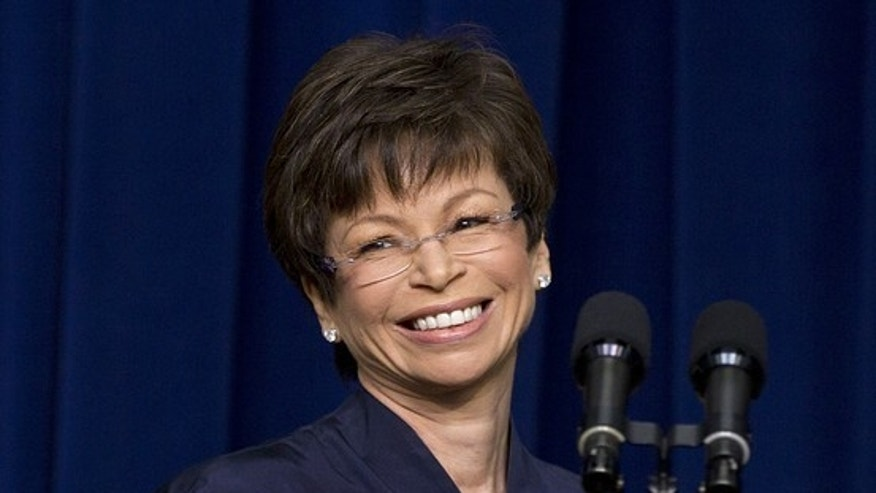 Senior Obama adviser Valerie Jarrett