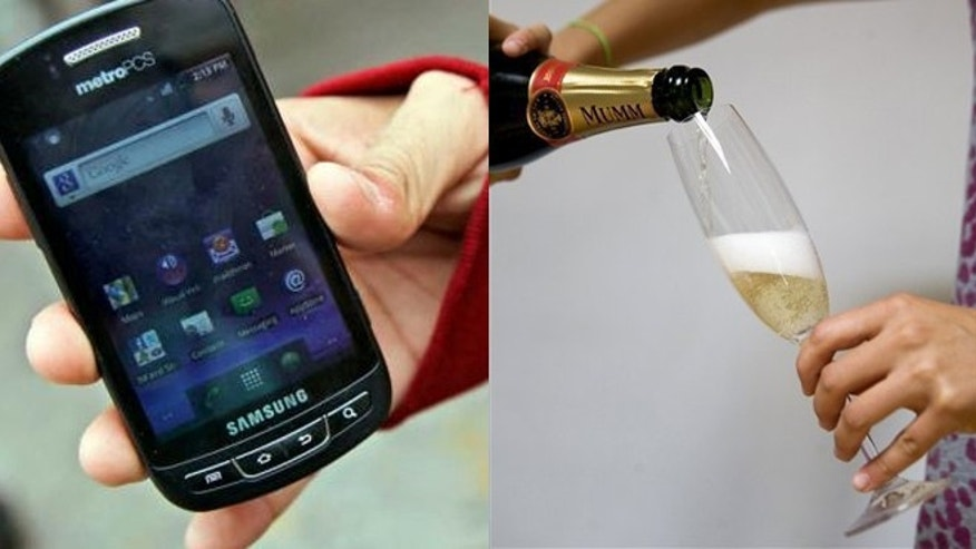Cell phones and champagne are two items that are usually cheaper in December.