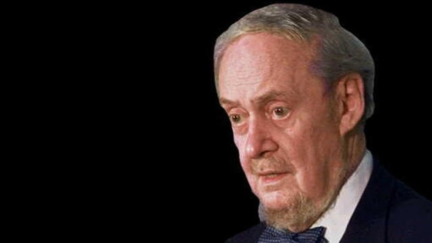 Shown here is the late Judge Robert Bork.