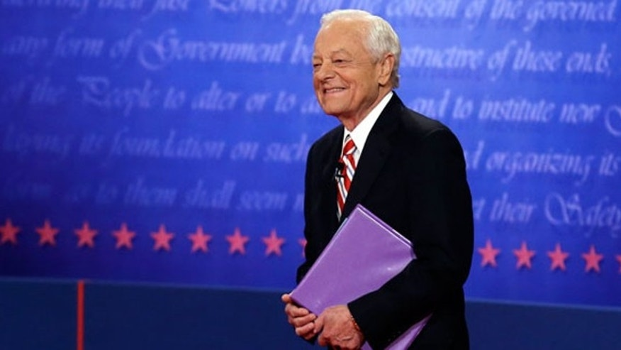 Schieffer moderated the third presidential debate.