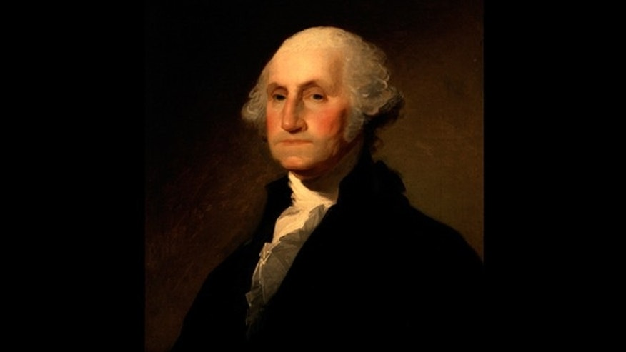 Portrait of George Washington by Gilbert Stuart c. 1797.
