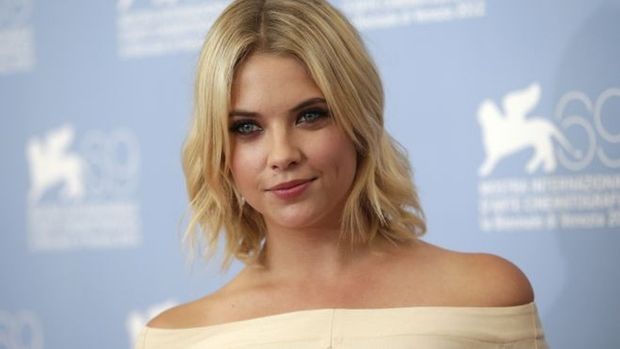 Actress Ashley Benson