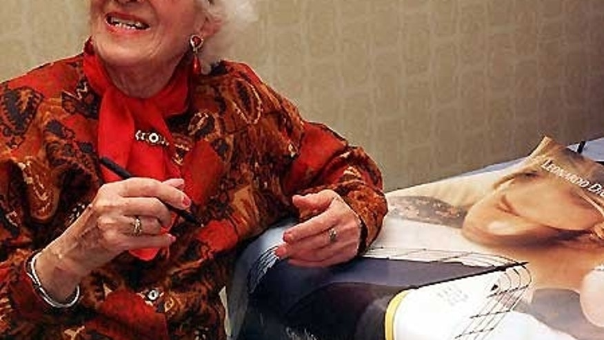 FILE -- May 31, 2009: The Titanic International Society said Millvina Dean, the last survivor of the sinking of the Titanic, has died.