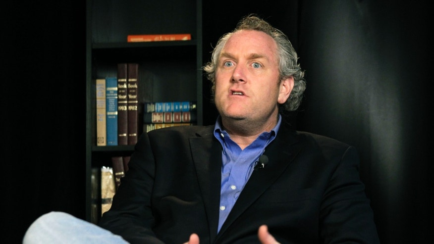 FILE -- June 7, 2011: Conservative blogger Andrew Breitbart shown during an interview at the Associated Press in New York.