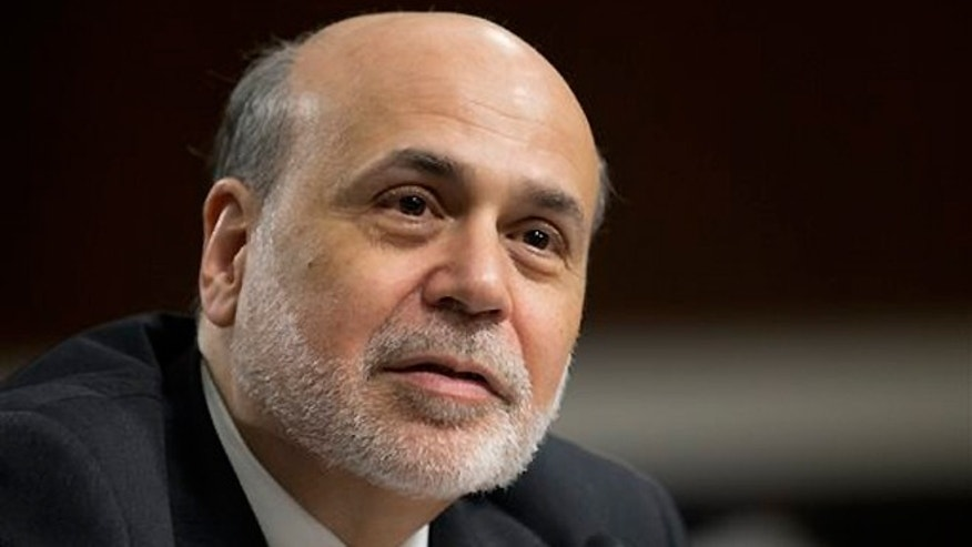 FILE -- May 22, 2013: Federal Reserve Chairman Ben Bernanke testifies on Capitol Hill in Washington. The Federal Reserve ends a policy meeting Wednesday, June 19, 2013. Investors have been nervously speculating that the Fed will soon scale back its economic stimulus and send interest rates up and stock prices down.