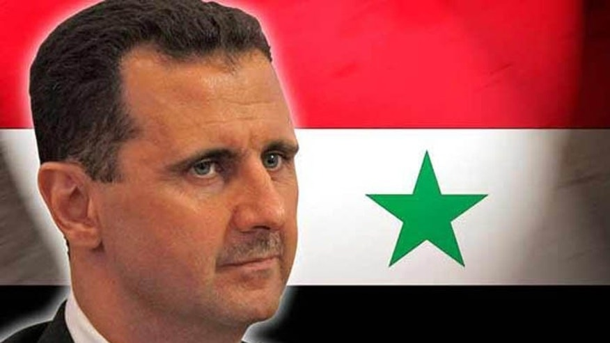 Syrian President Bashar Al Assad is accused of using chemical weapons on his people. (AP)
