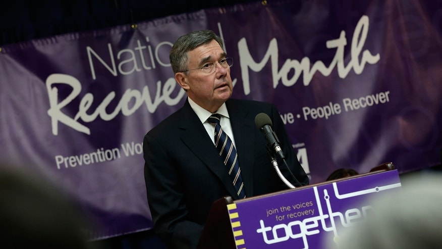 Gil Kerlikowske, Director of the Office of National Drug Control Policy, at a press conference September 4, 2013 in Washington, DC.