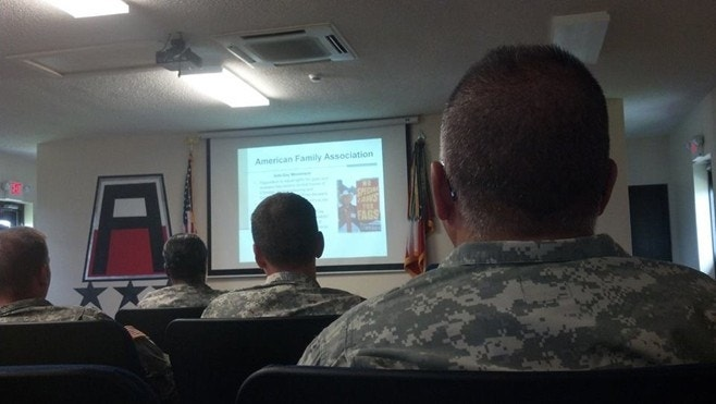 US Army defines Christian ministry as 'domestic hate group'