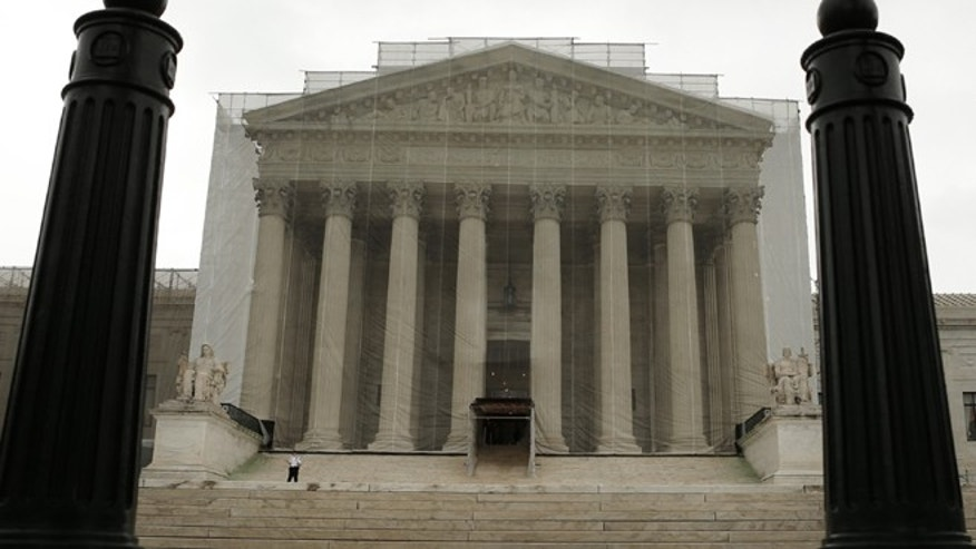 The U..S. Supreme Court building. (REUTERS)