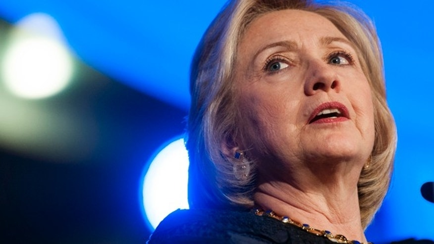 Former Secretary of State Hillary Rodham Clinton.