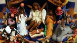 """WASHINGTON - DECEMBER 9:  A nativity scene from Mexico is displayed during a """"Joy to the World""""  exhibit December 9, 2004 in Washington, DC. More than 150 nativity scenes from around the world will be displayed during the fourth annual international creche exhibit running through January 10, 2004.  (Photo by Joe Raedle/Getty Images)"""