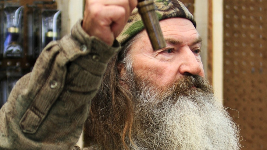 Phil Robertson, the Duck Commander, in West Monroe, La, on Nov. 7, 2013.