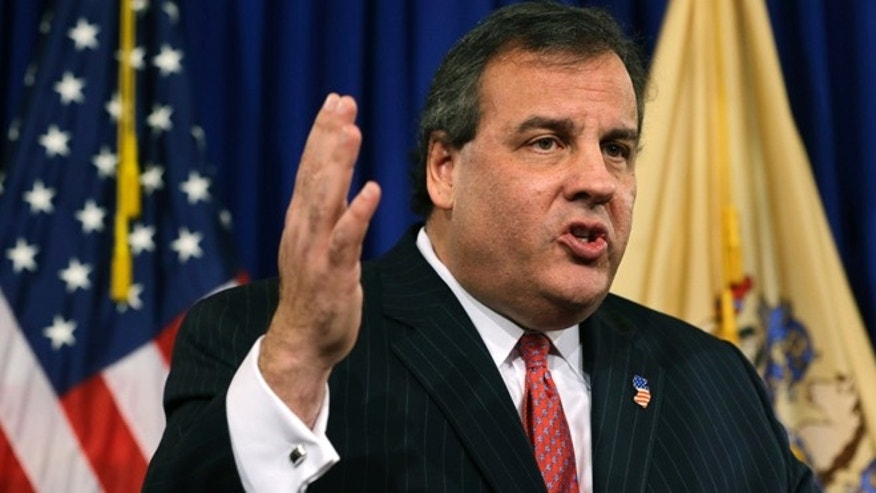 Jan. 9, 2014: New Jersey Gov. Chris Christie speaks during a news conference Thursday at the Statehouse in Trenton. N.J.