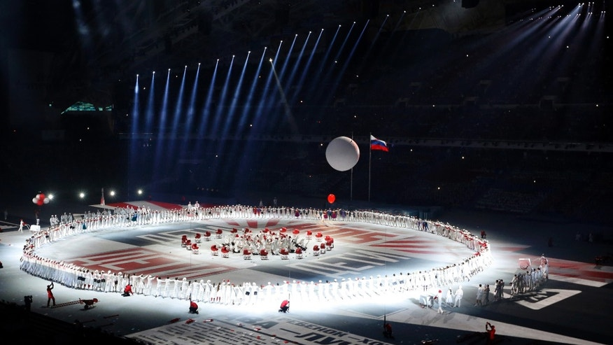 Feb. 7, 2014 - Artists perform during the opening ceremony of the 2014 Winter Olympics in Sochi, Russia.