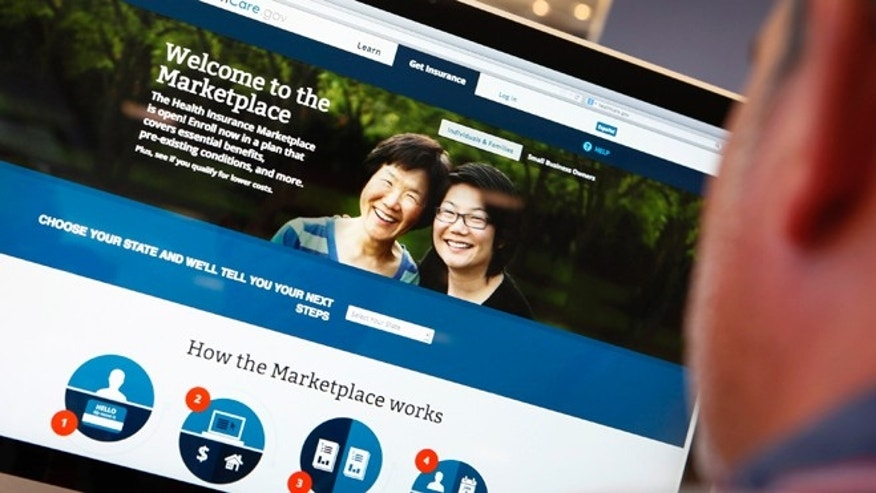 The ObamaCare website.