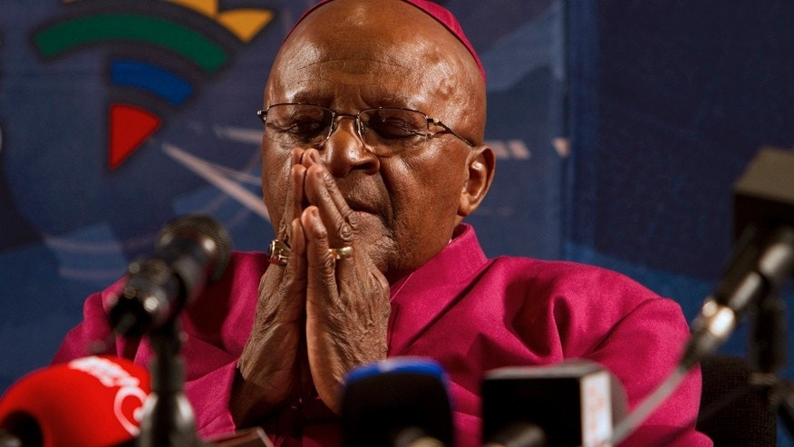 Archbishop Emeritus and Nobel Laureate Desmond Tutu.