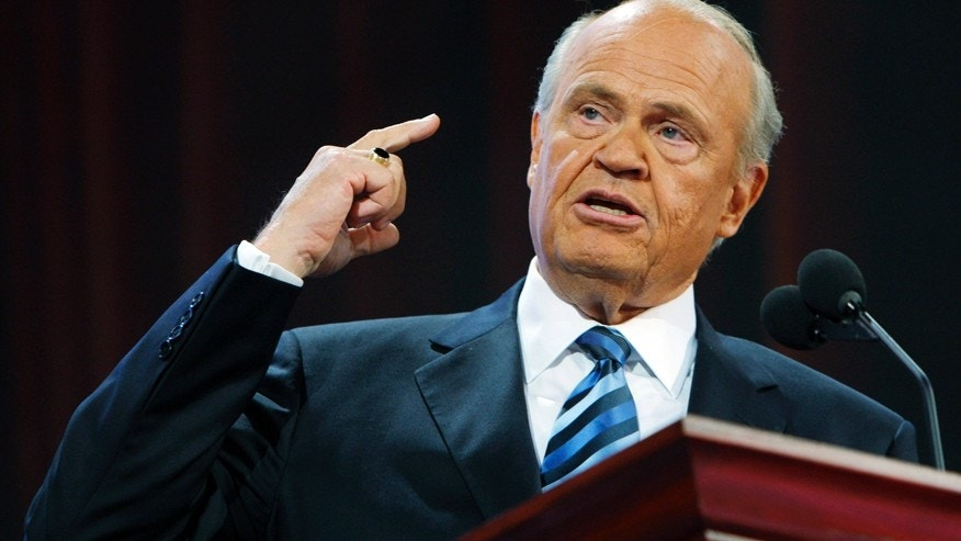 Former Republican Senator Fred Thompson (R-TN).