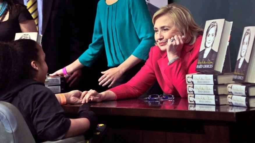 Hillary Clinton's humanity on display as 'Hard Choices' media tour ...