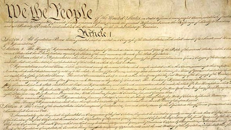 The United States Constitution. (ARCHIVES.GOV)