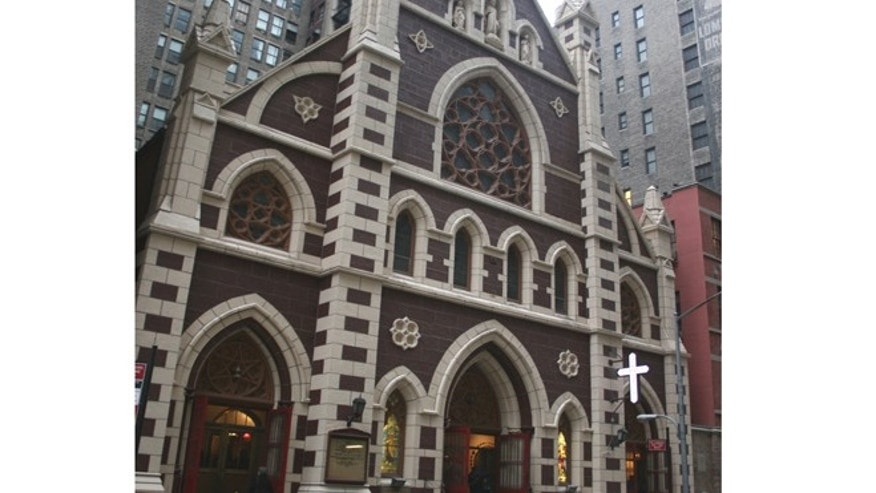 The Church of the Holy Innocents in New York City. (Courtesy Vijay Wijesundera)