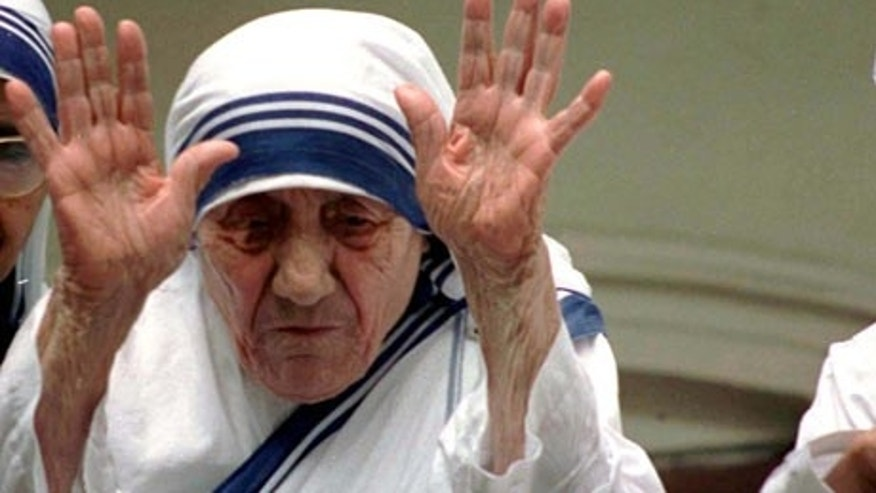 Mother Teresa was known throughout the world for her charitable acts.