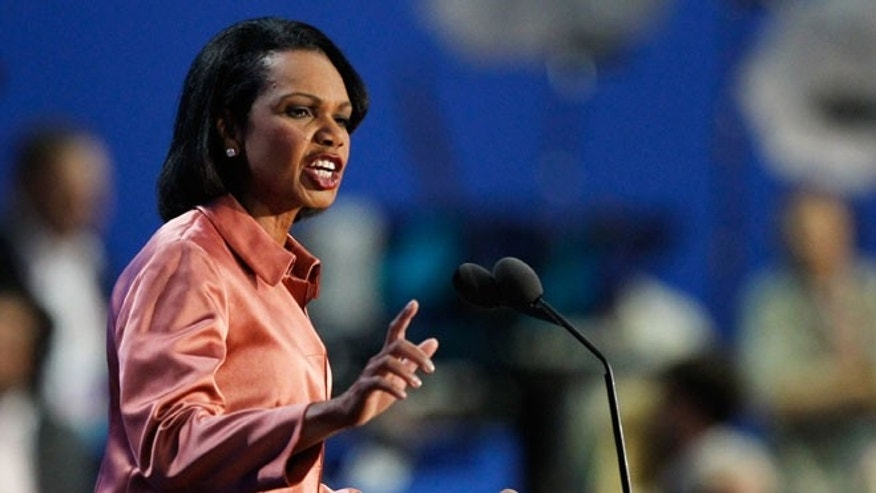 Trump meets with Condoleezza Rice   Story   ArkansasMatters