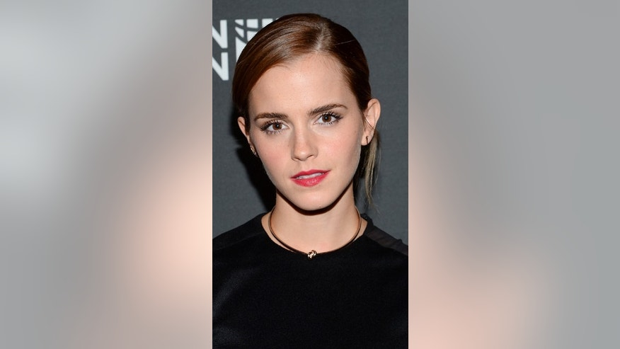 Sept. 20, 2014: UN Women Goodwill Ambassador Emma Watson attends the HeForShe United Nations campaign launch party at the The Peninsula Hotel  in New York.