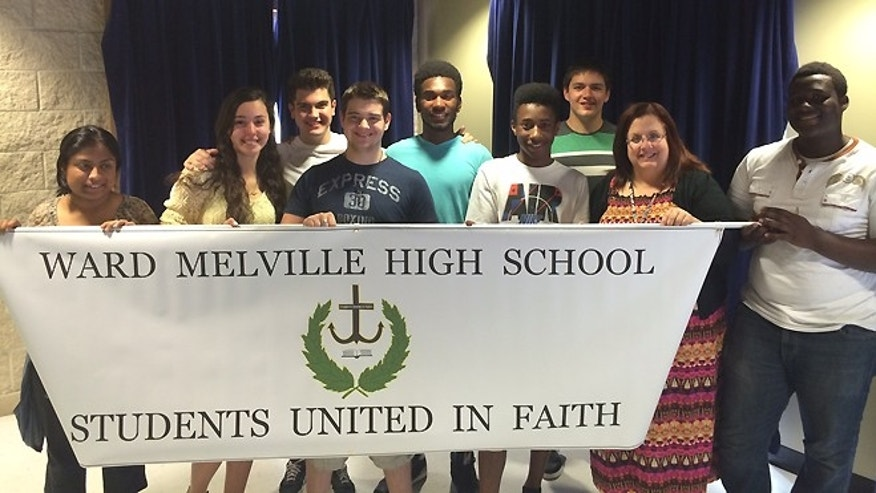 The Christian Club at Ward-Melville High School.