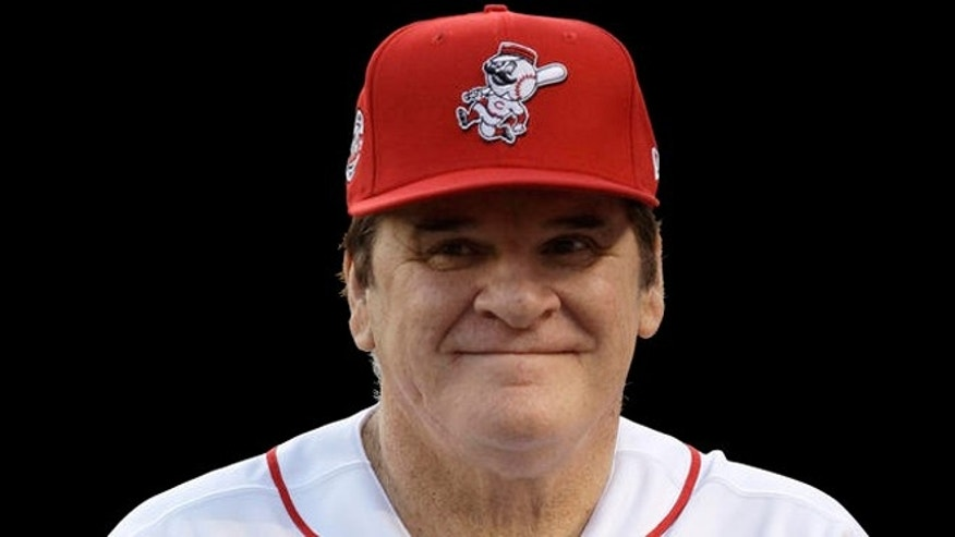 FILE -- Pete Rose, former Cincinnati Reds manager and baseball player.