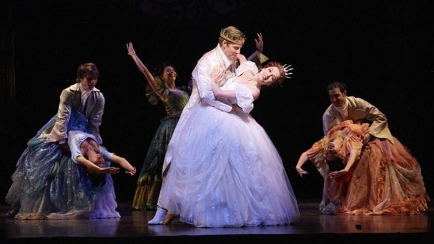 Paige Faure as Cinderella in ''Rodgers + Hammerstein's Cinderella,'' on tour.