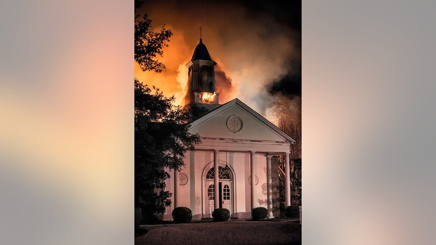"First Church of Christ, Scientist in Tyler, Texas burns to the ground in ""Little Hope Was Arson"" the documentary about solving an East Texas mystery in theaters and online now."