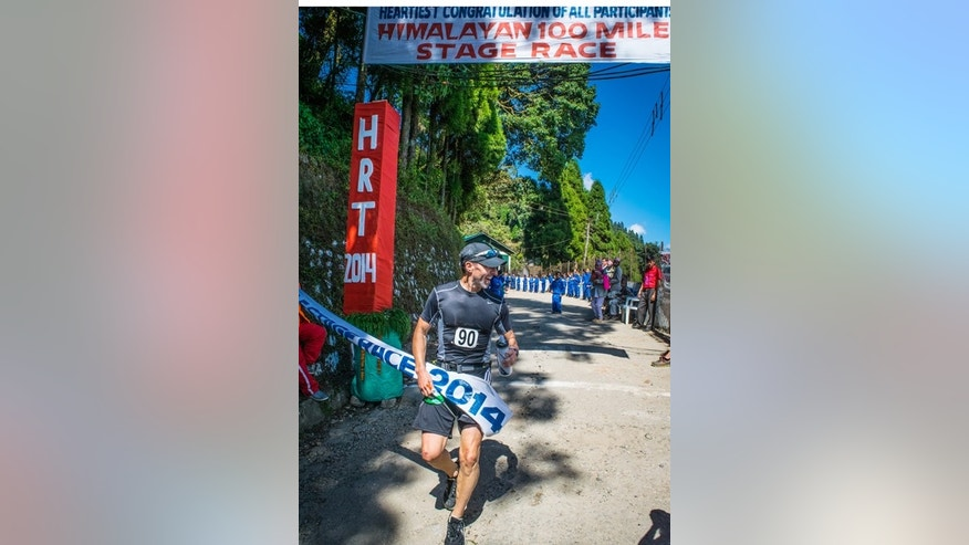 David Fouse completes the Himalayan 100 mile stage race.