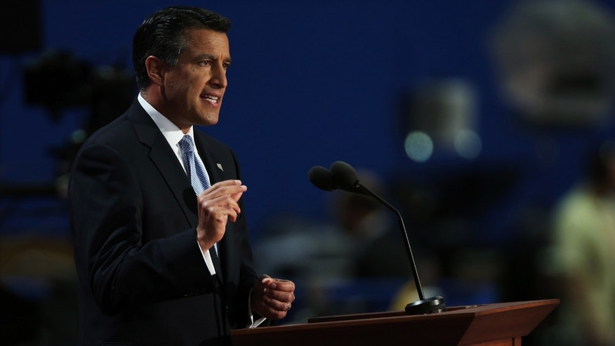 Gov. Sandoval during the 2012 Republican National Convention in Tampa, Florida.