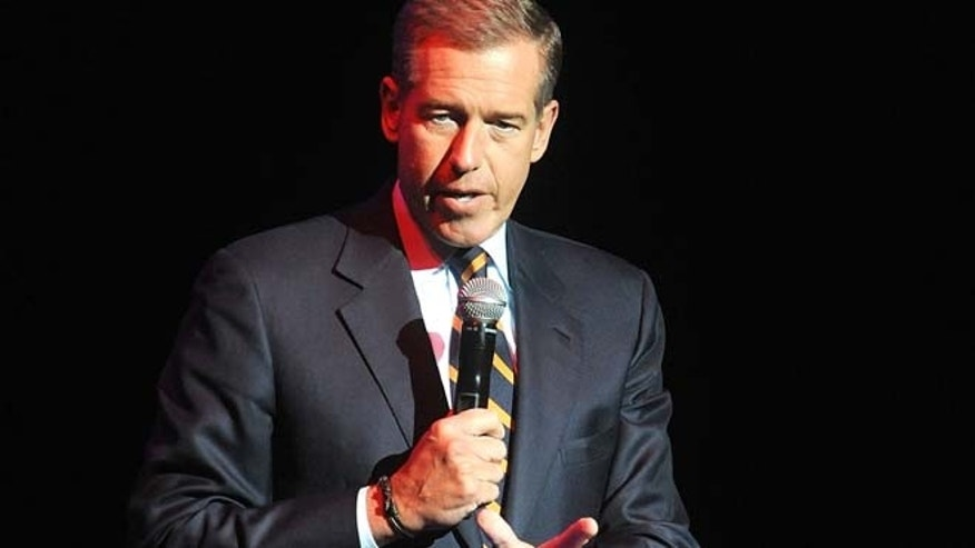 Nov. 5, 2014: In this file photo, Brian Williams speaks at the 8th Annual Stand Up For Heroes, presented by New York Comedy Festival and The Bob Woodruff Foundation in New York. (AP)