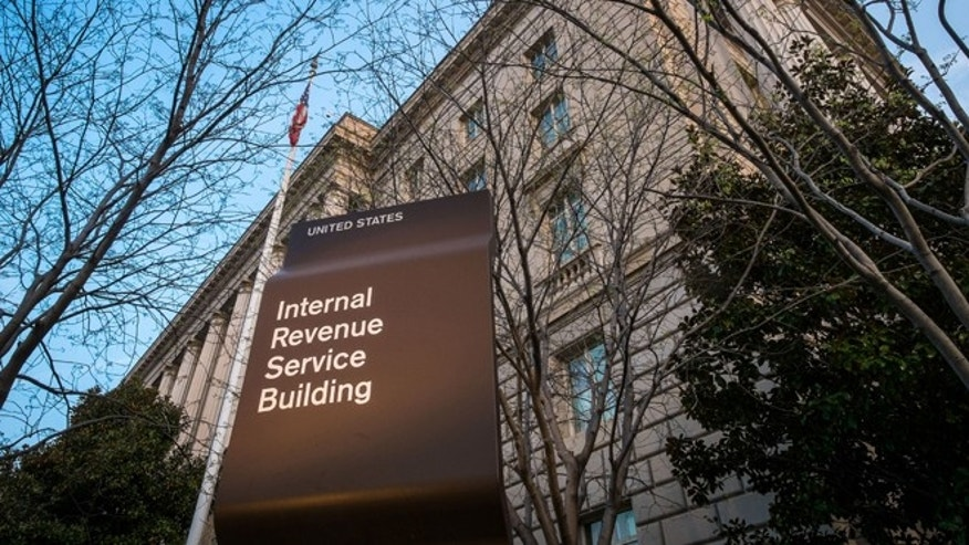FILE- April 13, 2014: The Internal Revenue Service Headquarters (IRS) building is seen in Washington.