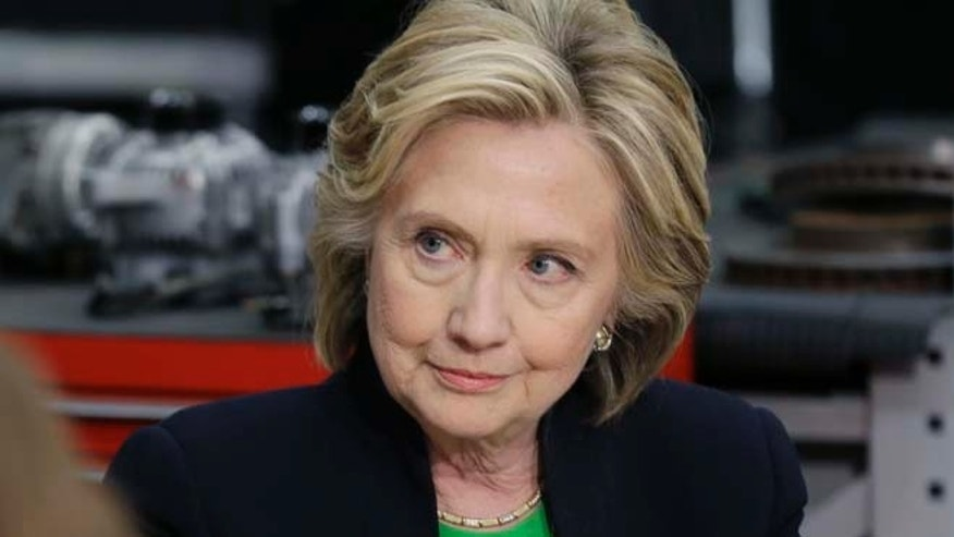 April 14, 2015: Democratic presidential candidate Hillary Rodham Clinton.