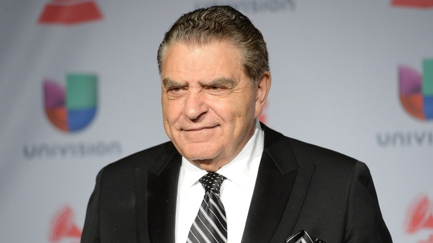 LAS VEGAS, NV - NOVEMBER 21:  TV personality Don Francisco poses in the press room at the 14th Annual Latin GRAMMY Awards held at the Mandalay Bay Events Center on November 21, 2013 in Las Vegas, Nevada.  (Photo by Jason Merritt/Getty Images)